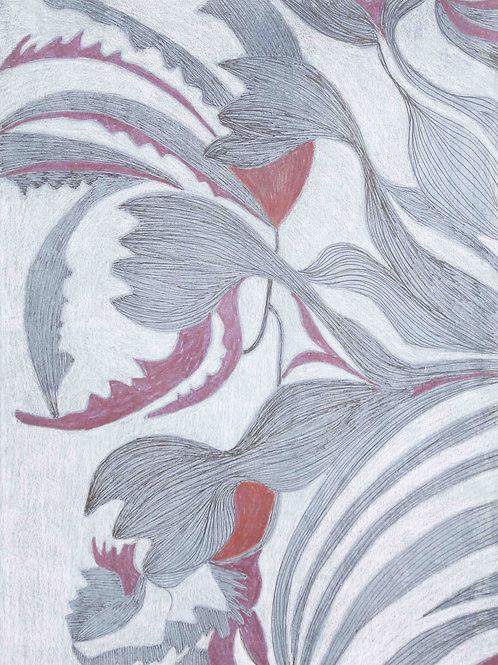 Oceans (Ink on Paper)