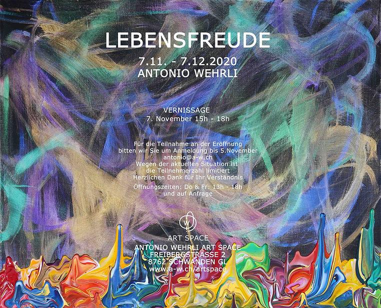 LEBENSFREUDE Antonio Wehrli Solo Exhibit