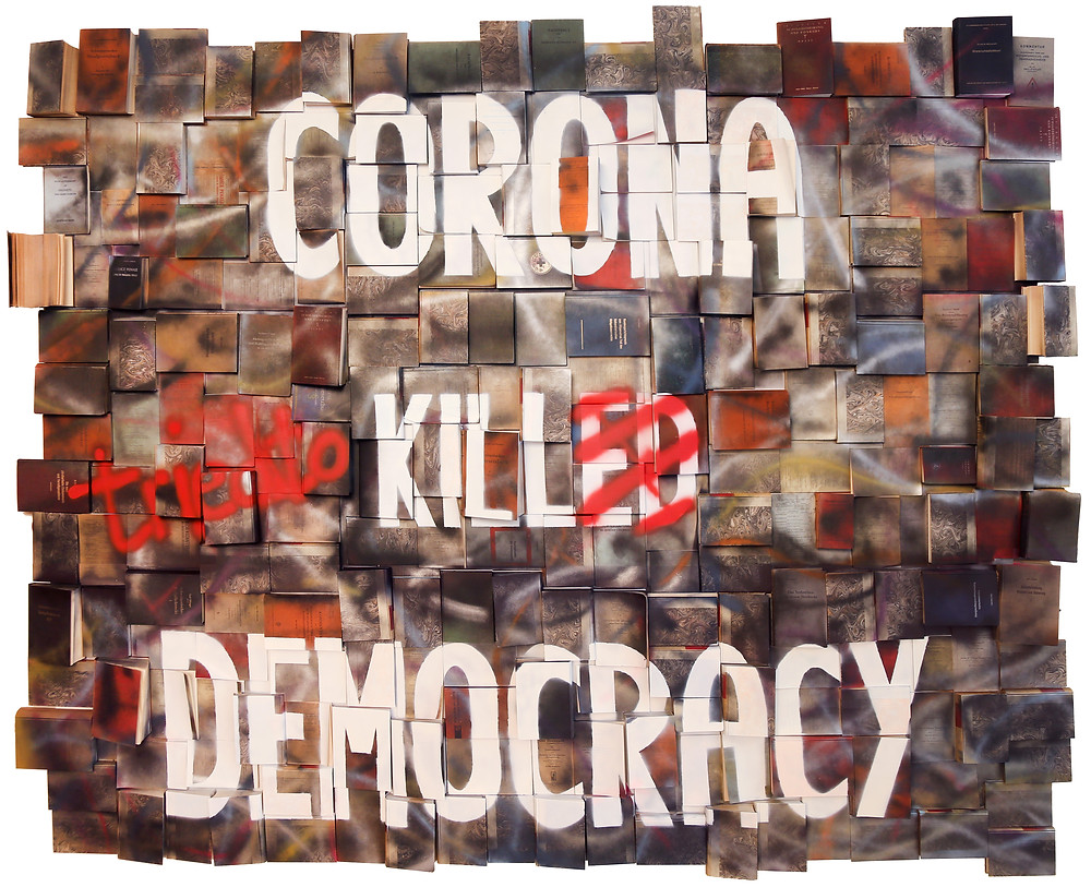 Corona tried to kill democracy - 2020 - Antonio Wehrli
