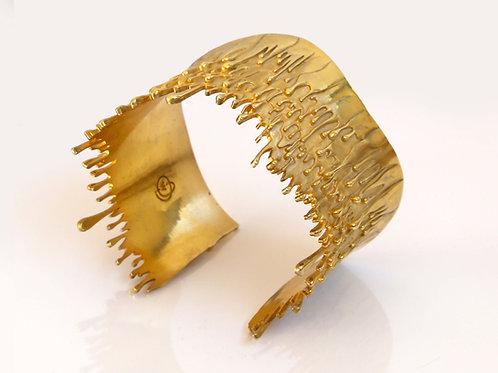 18k Gold Gravity Bracelet