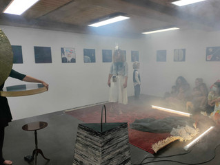 """""""Wenn die Berge dein Meer werden"""" - Finissage Impressions at Antonio Wehrli Art Space"""