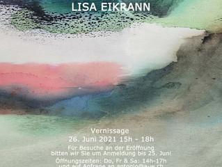 Wenn die Berge dein Meer werden - Lisa Eikrann at Antonio Wehrli Art Space