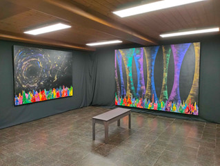 """Galaxy Gravity"" at Antonio Wehrli Art Space, Switzerland"