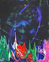 Galaxy Gravity 20210901 - 40 x 50 - Acrylic on Canvas - 2021.JPG