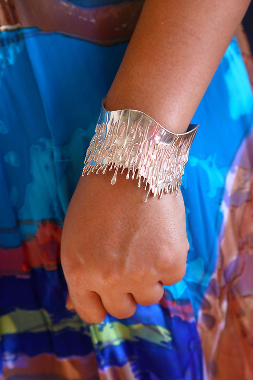 Sterling Silver Gravity Bracelet