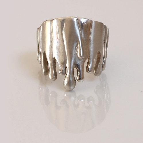Level 4: Gravity Ring aus Sterlingsilber