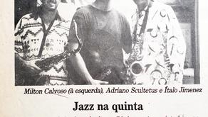 Restaurante Les Fromages reunia músicos em Quinta do Jazz (1998)