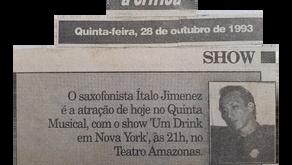 Quinta Musical - Show Um Drink em Nova Iorque (1993)