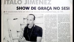 Circuito Amazônia Celular apresentou  música instrumental de Ítalo Jimenez, no SESI (2002)