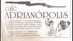 Café Adrianópolis foi um dos points do jazz em Manaus (1998)