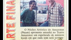 A divulgação do show JAZZ, BOSSA e Cia (1995)