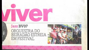Osquestra do Beiradão( OBA) fez sua estreia no Festival Amazonas Jazz, em 2013