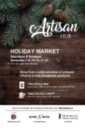 Erin Mills Artisan Hub poster fix 11-15-