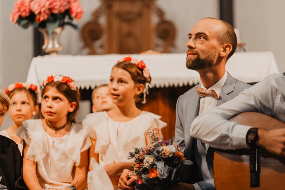 Mariage boho cérémonie laïque discours mariée