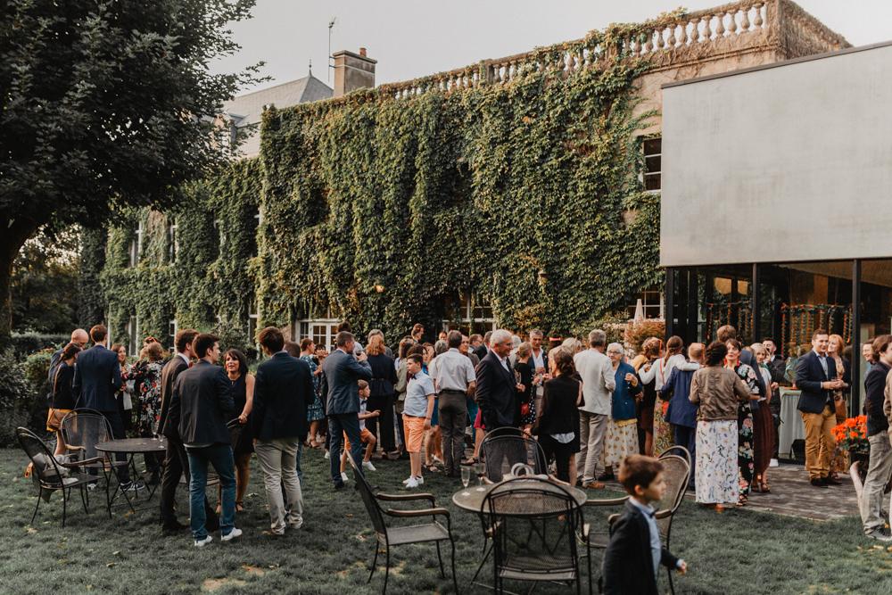 Photographe de mariage bohème Nord lieu de réception les jardins de la matelote Wimereux