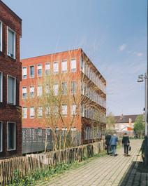 photographe architecture Lille bureaux briques