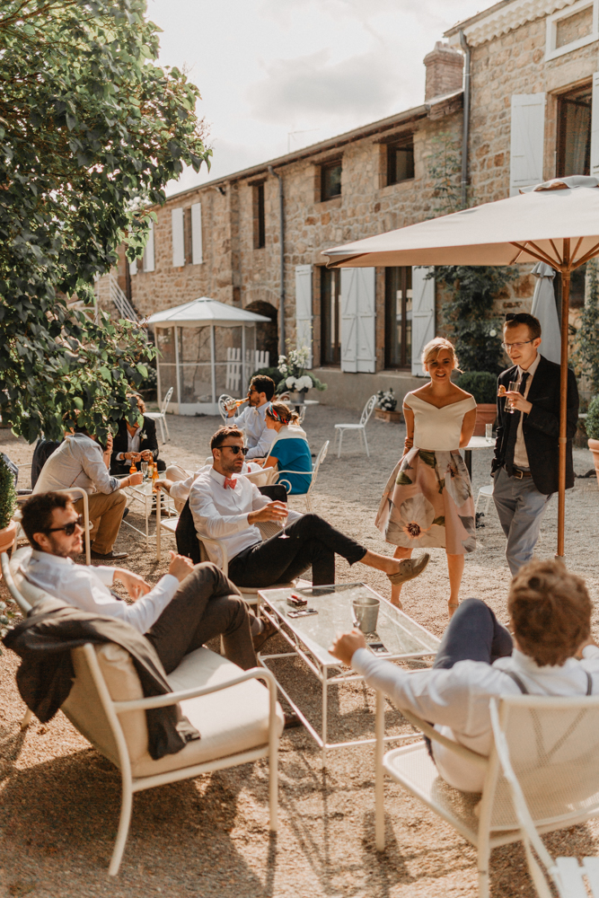 photographe mariage bohème Ardèche Rhône Alpes ambiance cocktail