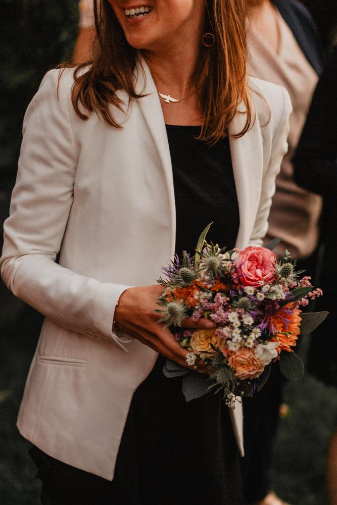mariage boho bouquet mariée invitée future mariée