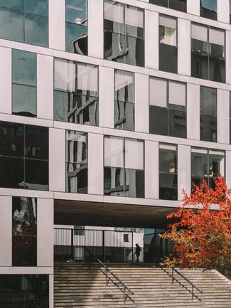 photographe d'architecture Lille façade bureaux
