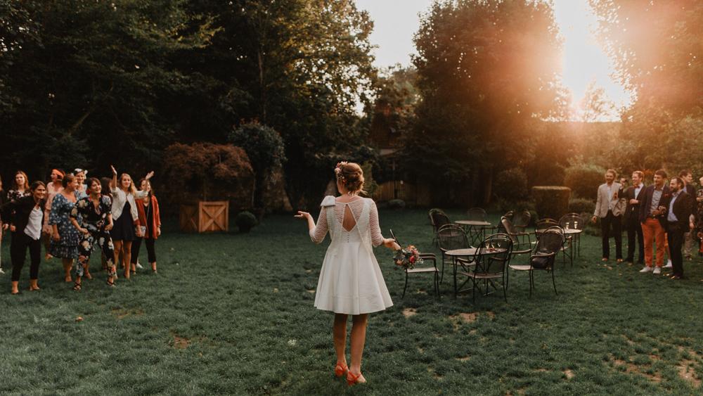 Photo mariage couleur chaude