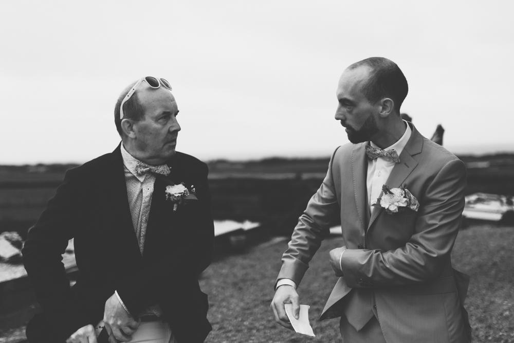 mariage bohème Nord Lille papa marié
