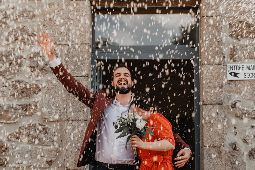 photographe mariage Ardèche Rhône Alpes civil lancé riz