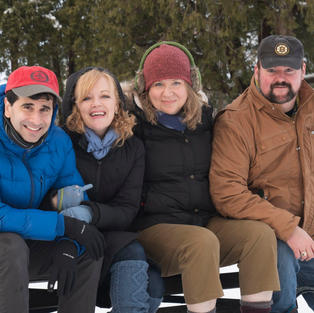 Cast of Almost, Maine, Portland Stage Co.