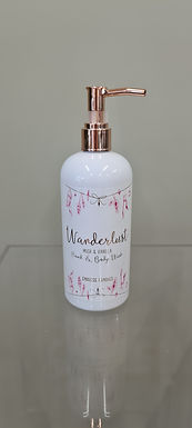 Wanderlust Musk and Vanilla Body Wash