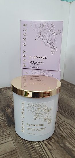 Oud Jasmine Soy Candle