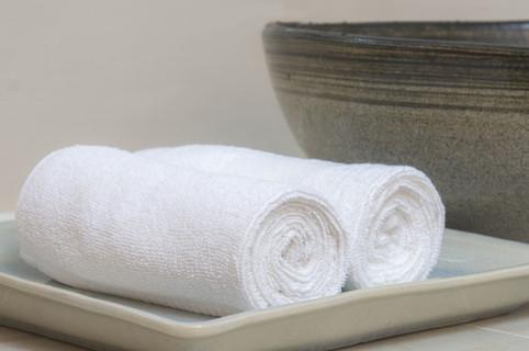 We provide towels