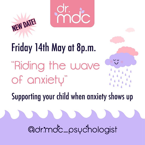 REPLAY of 'RidingThe Wave of Anxiety' WORKSHOP