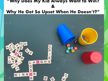 How to Help Your Child With Winning & Losing