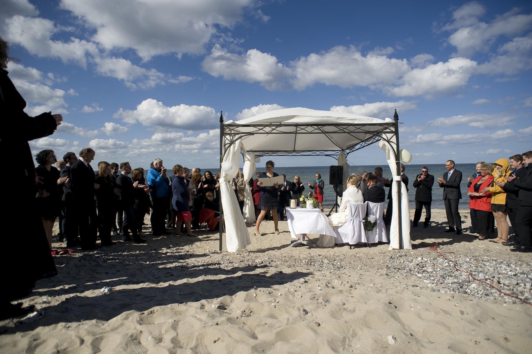 Freie Trauung Strandhaus Schwedeneck
