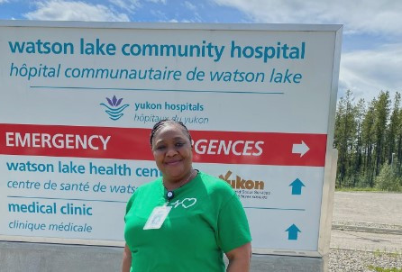Ezcare at Yukon Territory. Our nurses enjoy the vocation and creation around them.