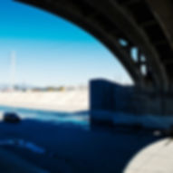 Los Angeles River Bed