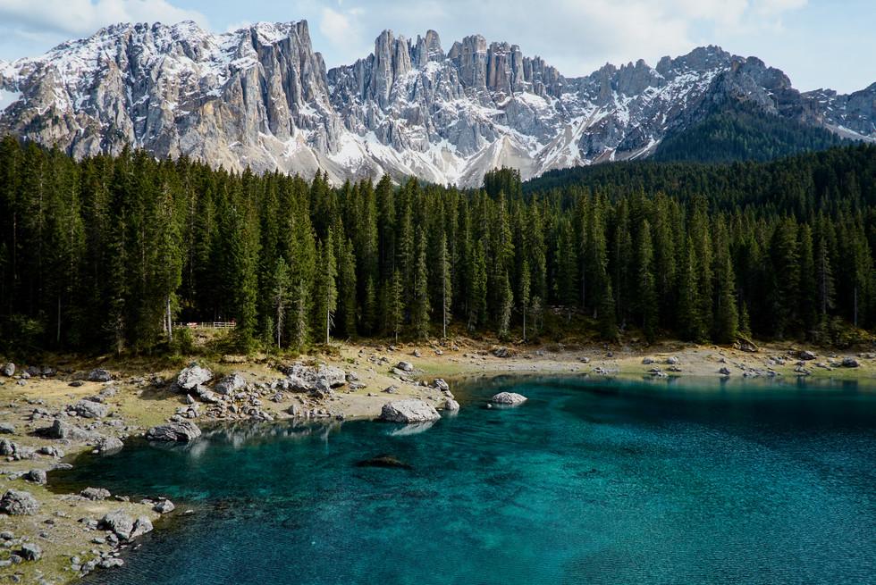 Karersee Dolomiten Italien