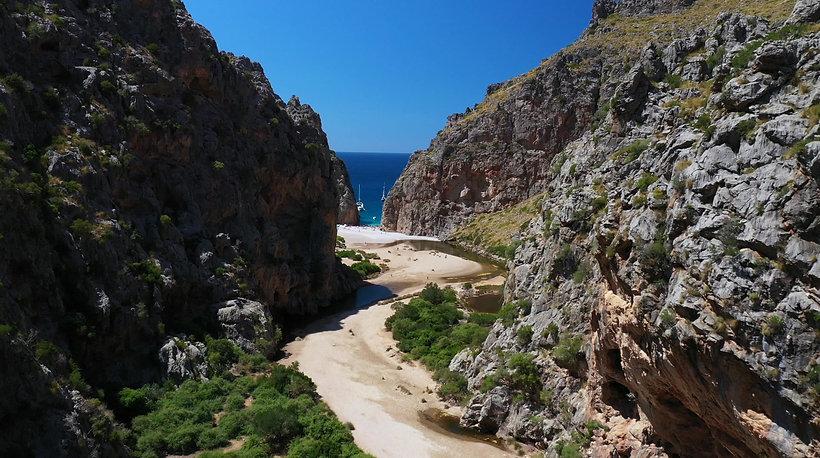 Serra de Tramuntana riverbed