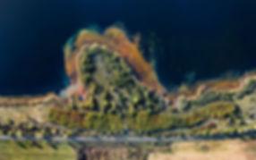 Uferlinie großer Goitzschsee