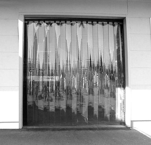 Strip Curtain Kit (Cooler & Warehouse) - 5'W X 8'H