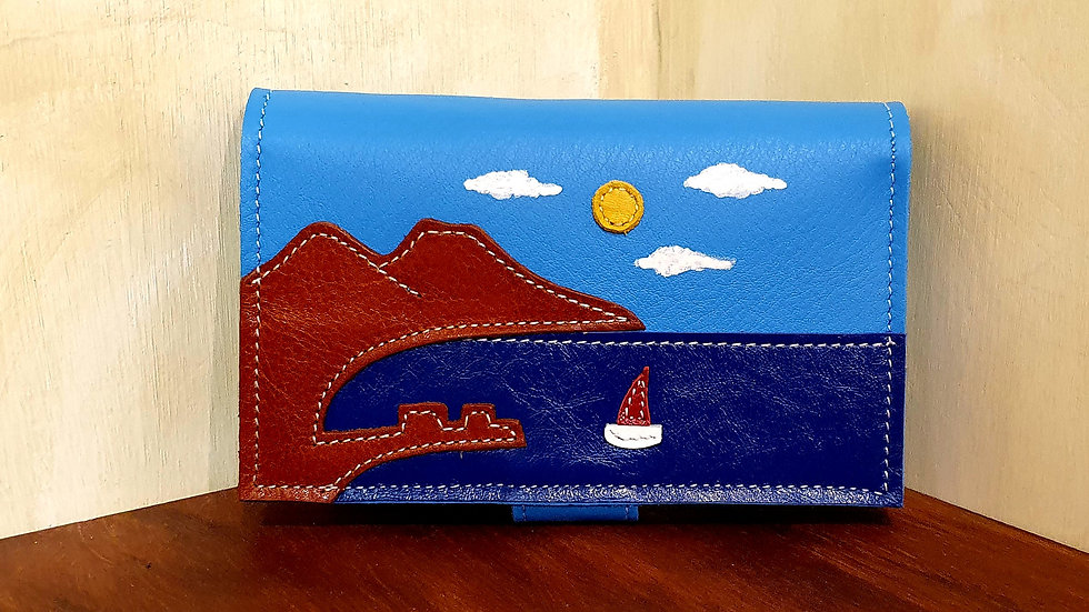 "Light ""Napoli"" wallet"