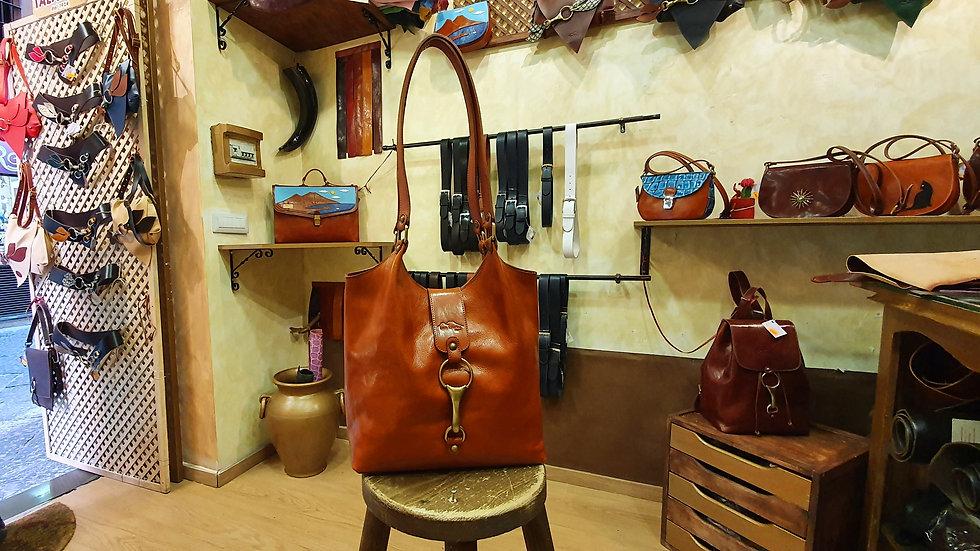 Bag with Brandy color hook