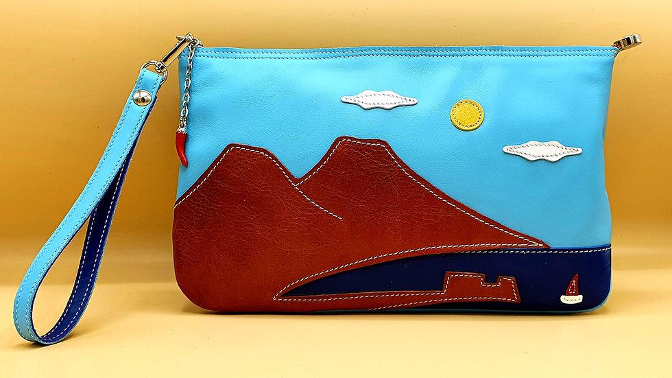 Napoli by day clutch bag