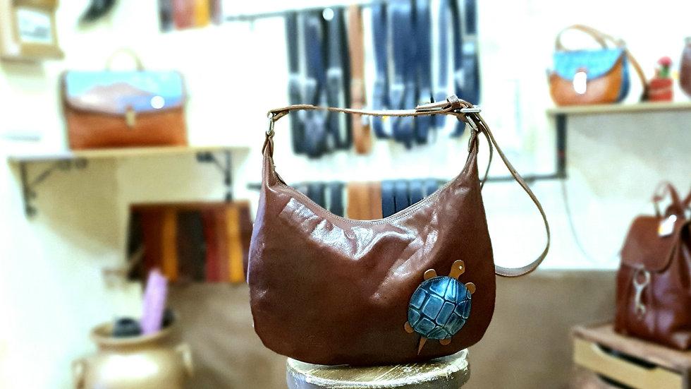 Turtle saddlebag 🐢 Coffee color