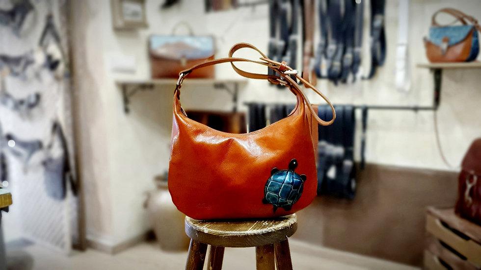 Turtle saddlebag 🐢 color Brandy