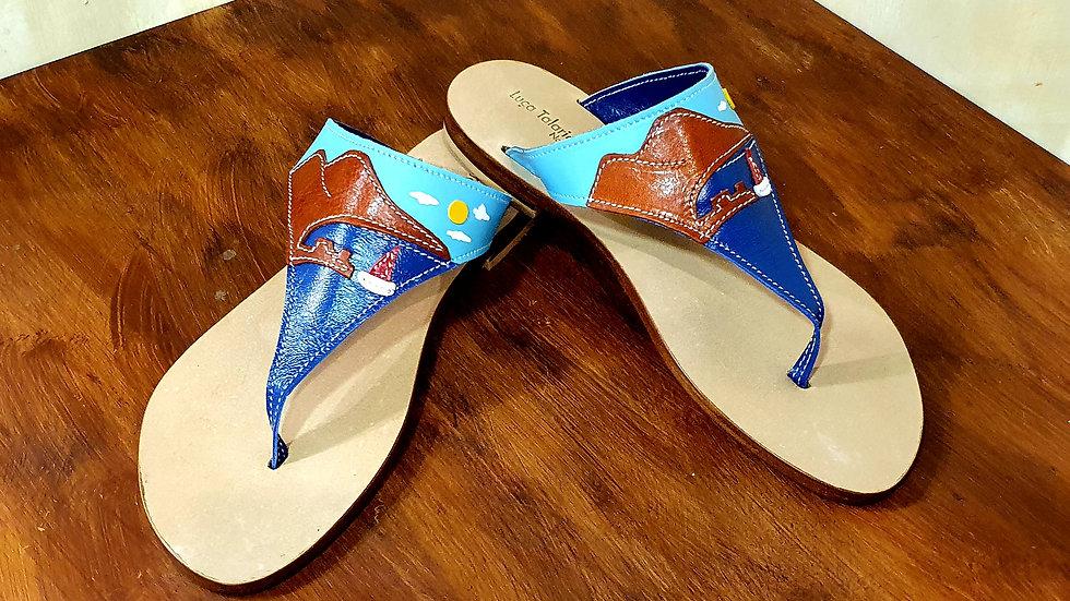 Sandalo ( Infradito by day ) tacco cm 1
