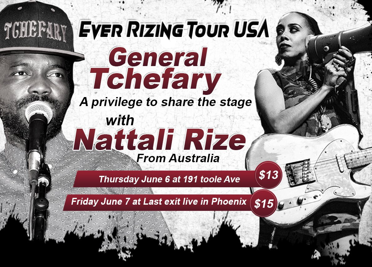 Nattali Rize & General Tchefary at 191 T