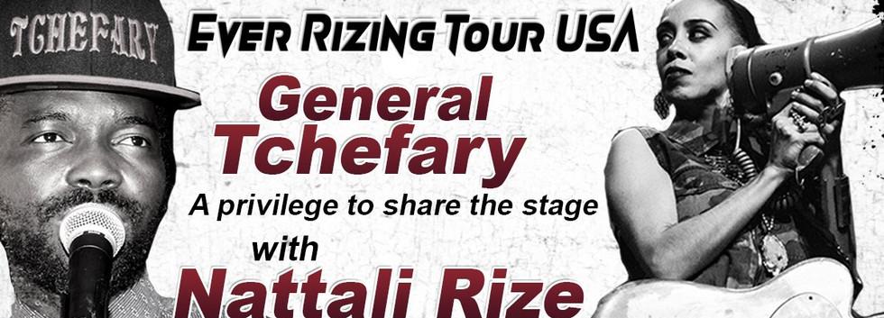 Nattali Rize & General Tchefary at 191 T