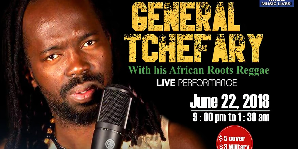 Chicago Bar Receives General Tchefary