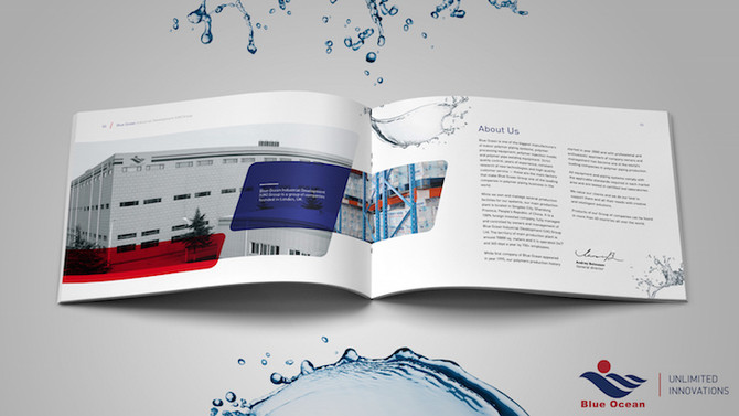 Blue Ocean Group – new company introduction brochure