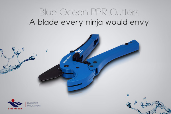Blue Ocean PPR Cutters. A blade every ninja would envy.